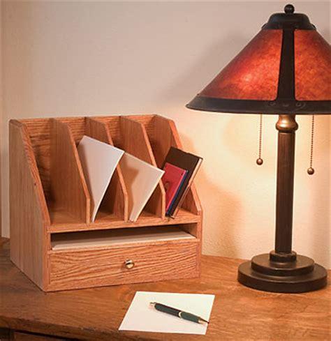 woodworking plans desk organizer free plan a simple desk organizer finewoodworking