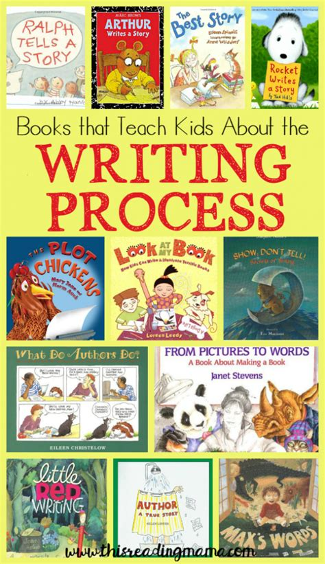 picture books to teach idea books that teach about the writing process