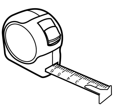 drawing tool with measurements measuring coloring page coloring book