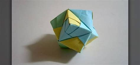 octahedron origami how to make a folded paper stellated octahedron with