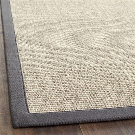 sisal rug safavieh fiber marble grey sisal area rugs nf441b