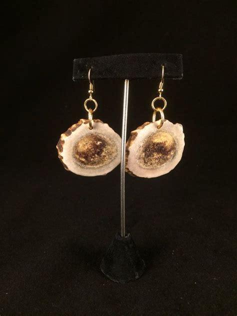 how to make antler jewelry handmade mule deer antler earrings