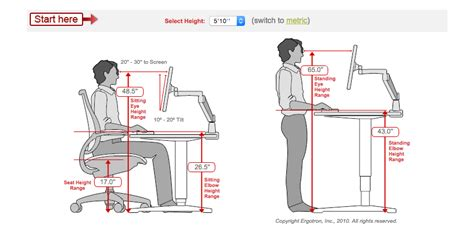 standing desk height ergonomics proper ergonomics for stand up desk hostgarcia
