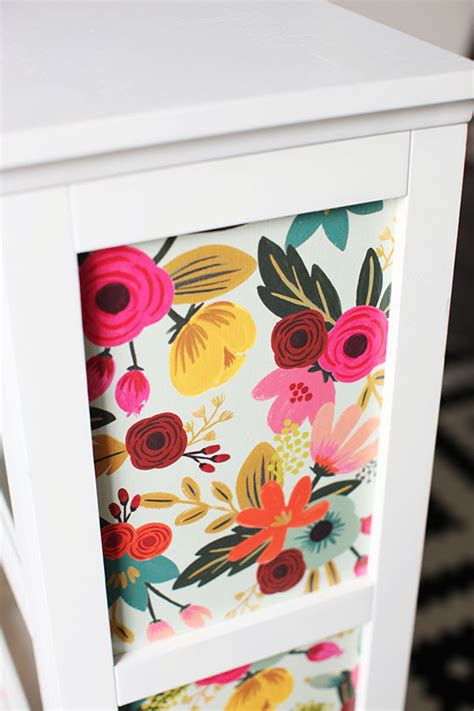 how to decoupage furniture with paper diy this me cabinet gets made with
