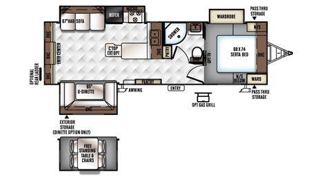 rockwood travel trailer floor plans 2017 rockwood ultra lite 2703ws travel trailer floor plan