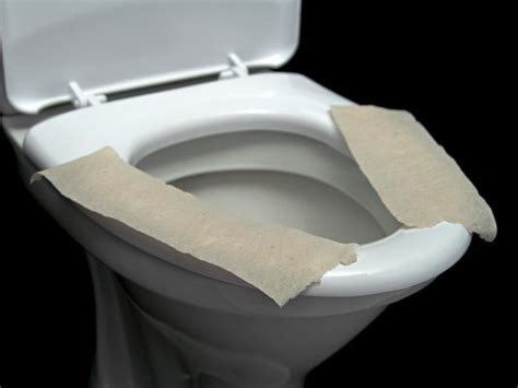 what happens when you don t use a toilet seat cover