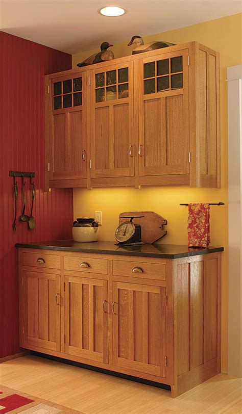 woodworking styles craftsman style kitchen cabinets finewoodworking