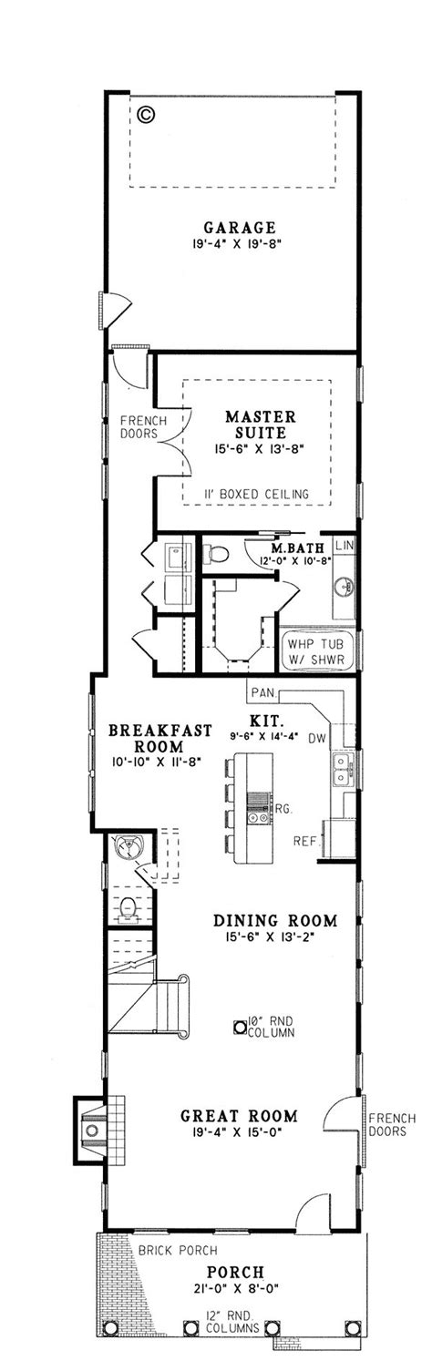 home plans for narrow lot 25 best ideas about narrow house plans on narrow lot house plans shotgun house and