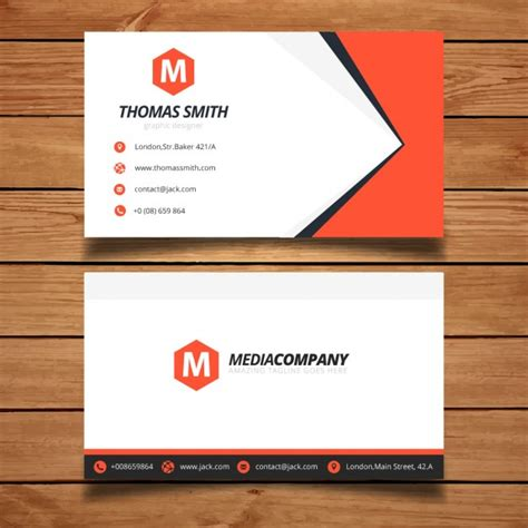 how to make a business card for free business card template design vector free