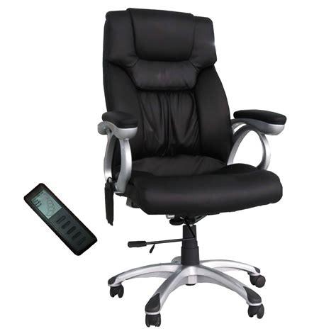 Shiatsu Office Chair by Shiatsu Office Desk Chair Heating Executive Swivel