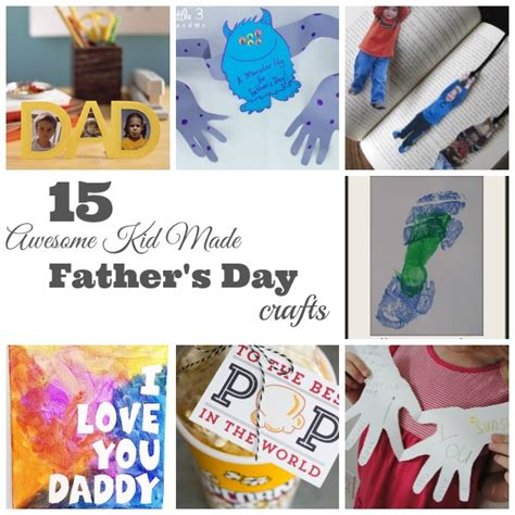 fathers day kid crafts s day kid made crafts