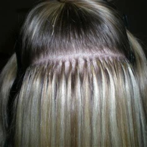 micro extensions microbead hair extensions cold fusion hair extensions