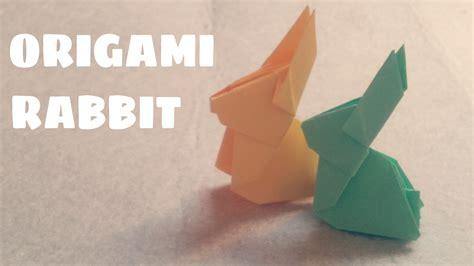 easy origami rabbit origami for origami rabbit origami animals
