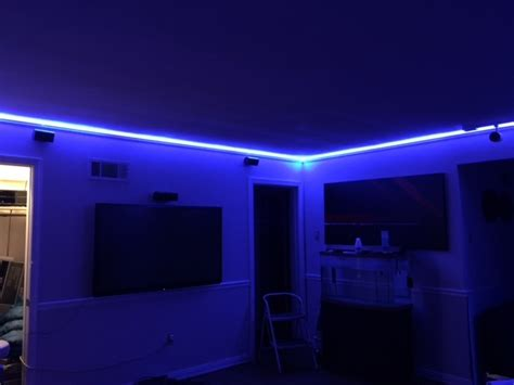 led light strips for room this is how to install 65 led s light strips w fibaro