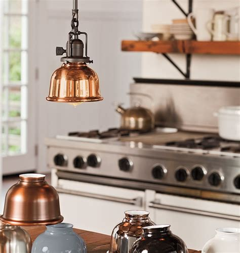 copper kitchen light fixtures pin by hawk on let there be light