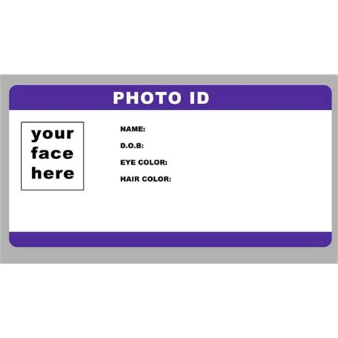make your own id card for free great photoshop id templates use these layouts to create