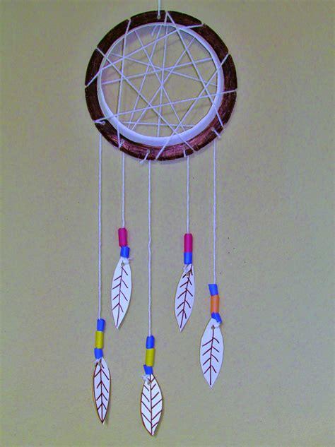 dreamcatcher craft for how make a paper plate dreamcatcher