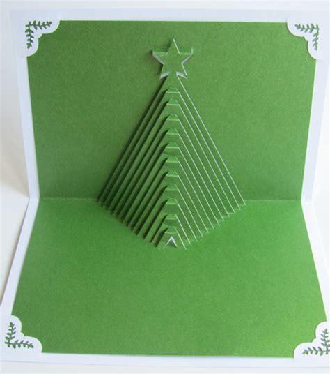 how to make a 3d tree card cards make handmade crochet craft