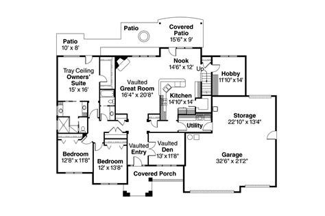 traditional floor plans traditional house plans abbington 30 582 associated designs