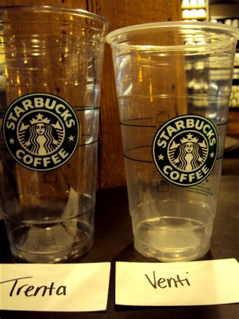 Starbucks Secret Size: Trenta   Starbucks Secret Menu