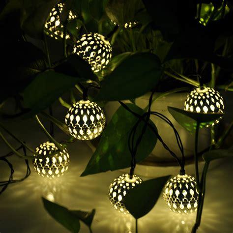 globe string lights wholesale solar power string lights for garden solar lights