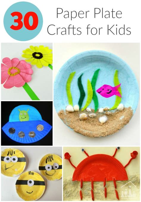 kid crafts for 30 awesome paper plate crafts crafty at home