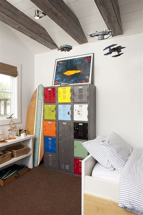 boys locker bedroom furniture 30 trendy ways to add color to the contemporary kids bedroom