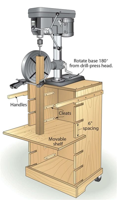 woodworking press best bench drill press stand plans woodworking projects