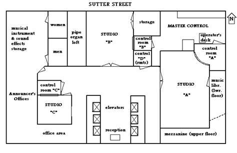 radio city floor plan nbc radio city studios floor plan san francisco bay