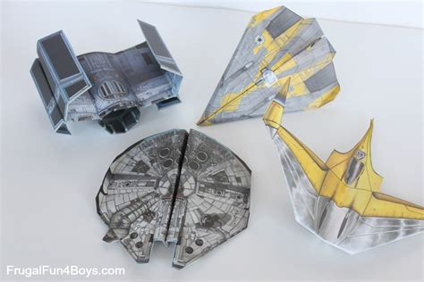 paper craft wars wars paper crafts to make