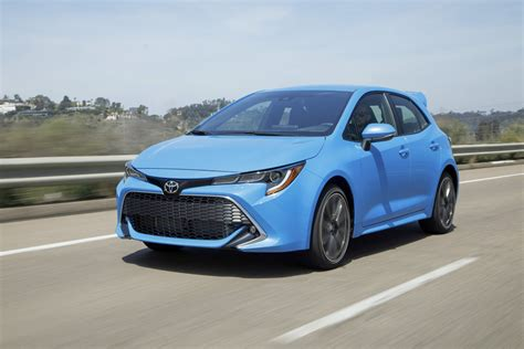 Toyota Corolla by 2019 Toyota Corolla Hatchback Review Digital Trends