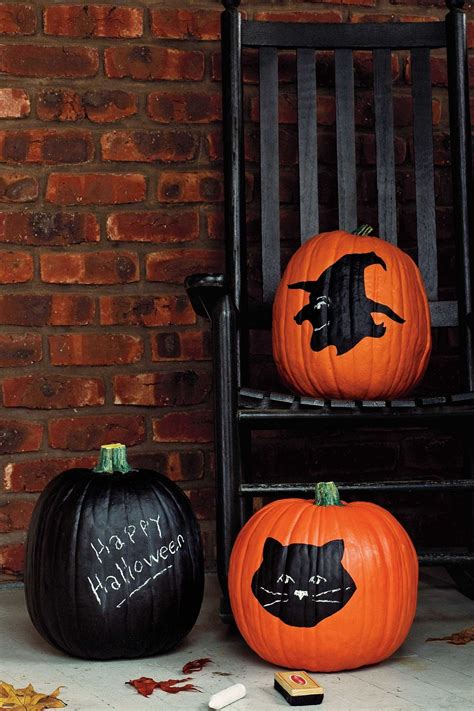 chalkboard paint pumpkin twenty five awesome colored pumpkin concepts for