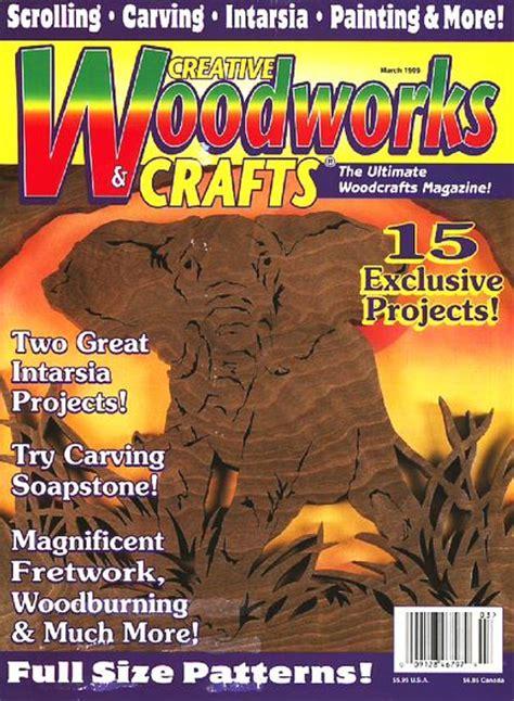 creative woodworking magazine creative woodworks crafts march 1999 pdf