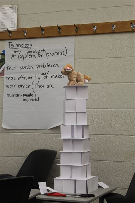 what to make out of index cards teach your to be civil engineers stem tower built