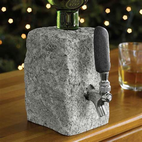 Rock Beverage Dispenser   So That's Cool