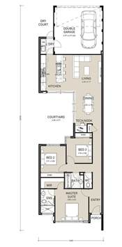 narrow lot home designs 25 best ideas about narrow lot house plans on