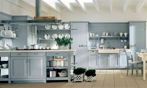 classic vintage modern kitchen blue gray cabinets inset minacciolo country kitchens with italian style