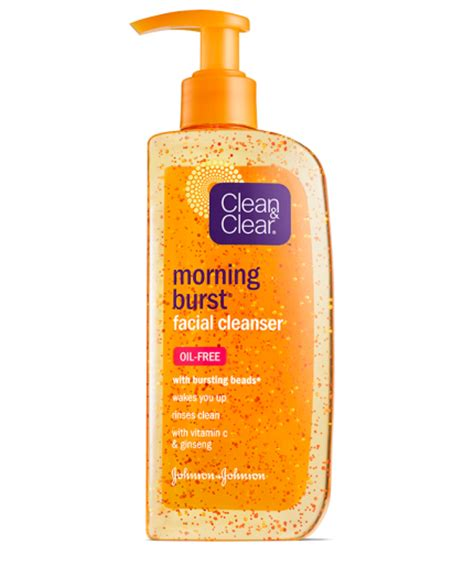bursting clean and clear morning burst 174 cleanser clean clear 174