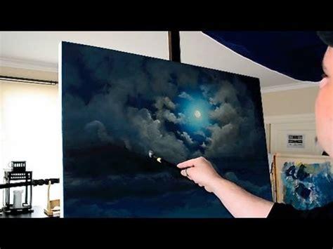 acrylic painting moon stonehenge moon acrylic time lapse painting