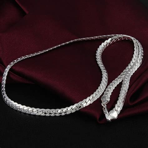 sterling silver chain for jewelry sterling silver jewelry 925 sterling silver necklace