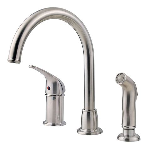 kitchen faucet sprayer pfister prive single handle pull out sprayer kitchen