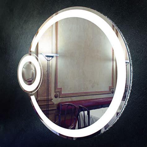 bathroom mirror with lights around it cgtrader