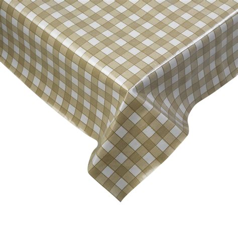 Dining Room Tablecloth 100 cotton gingham check tablecloth dining room kitchen