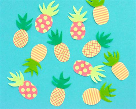 paper pineapple craft 25 pineapple crafts free printables diy goodness