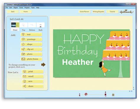 hallmark card software hallmark card studio deluxe 2016 greeting card software
