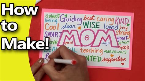 how do you make a s day card how to make a mothers day card for 2016 edition diy