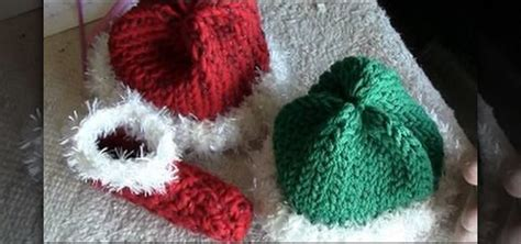 knitted santa hat for baby how to loom knit and santa hats for babies 171 knitting