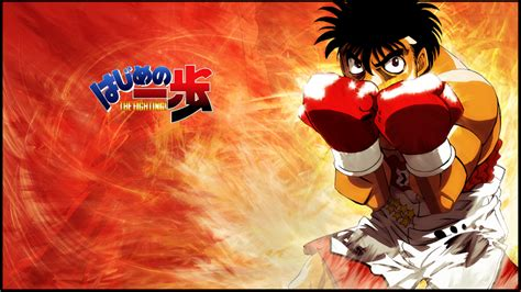 hajime no ippo japan in a word senri no michi even a road of a