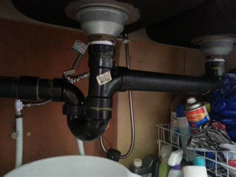 kitchen sink p trap p trap to low for kitchen sink doityourself