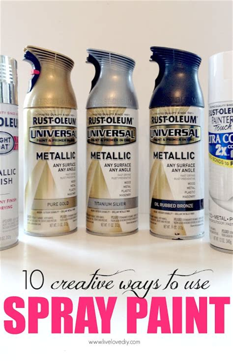 spray paint techniques livelovediy 10 spray paint tips what you never knew